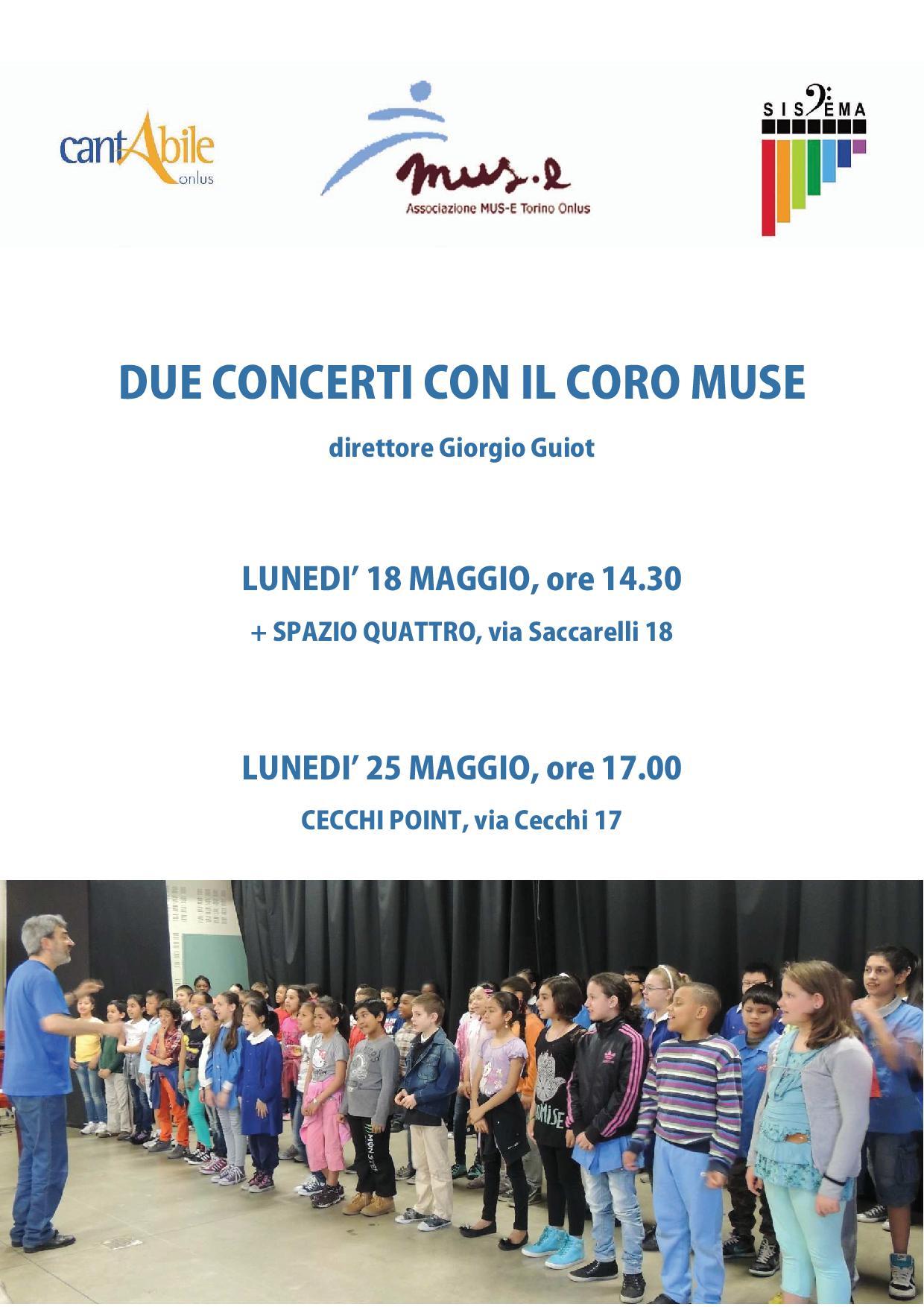 programma coro muse maggio 2015